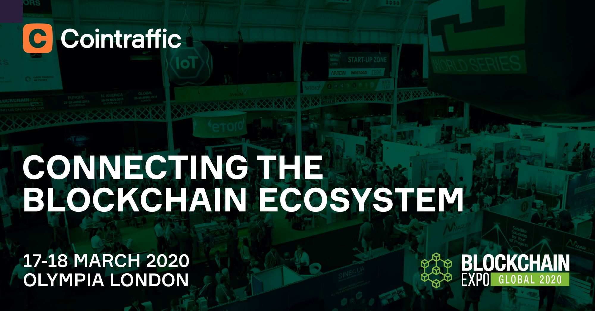 Cointraffic to Attend Blockchain Expo Global 2020