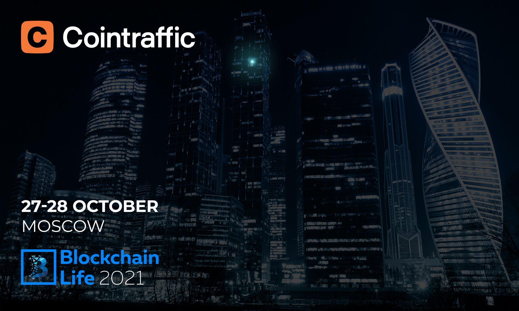 Cointraffic to Join World's Crypto Leaders at Blockchain Life 2021